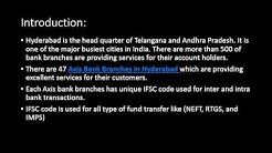 Axis Bank Branches In Hyderabad