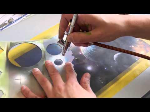 airbrush tv 47 das arism mini set von sparmax im test. Black Bedroom Furniture Sets. Home Design Ideas