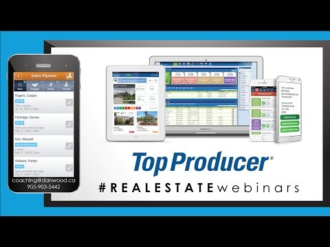 TopProducer Real Estate Webinar with Dan Wood