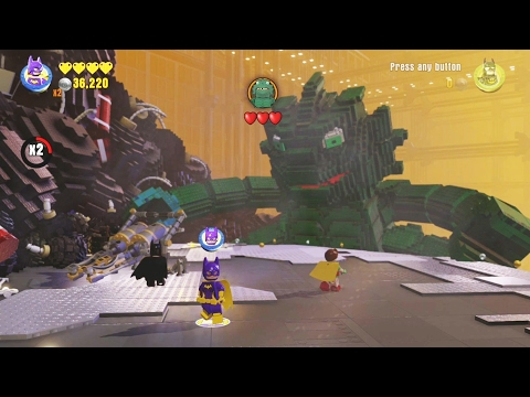 The LEGO Batman Movie Story Pack - All Boss Fights (All Bosses)