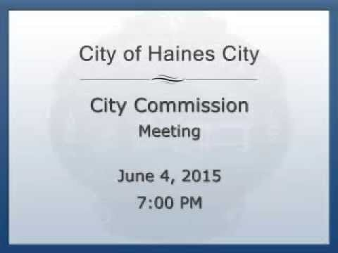 Haines City Commission Discusses a Community Development Block Grant (CDBG) Application
