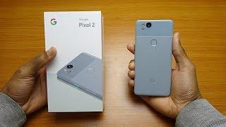 Google Pixel 2 Kinda Blue Unboxing