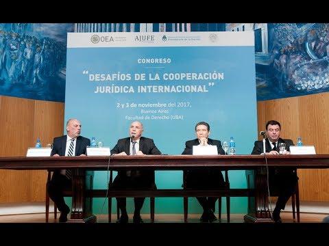 Panel: Protección del ambiente - Congreso Desafíos de la Cooperación Jurídica Internacional