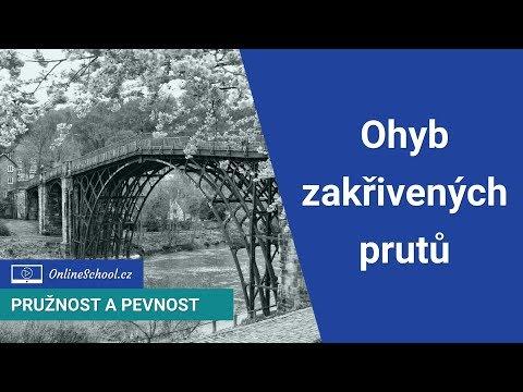 Ohyb zakřivených prutů | (5/14) Ohyb | Pružnost a pevnost | Onlineschool.cz