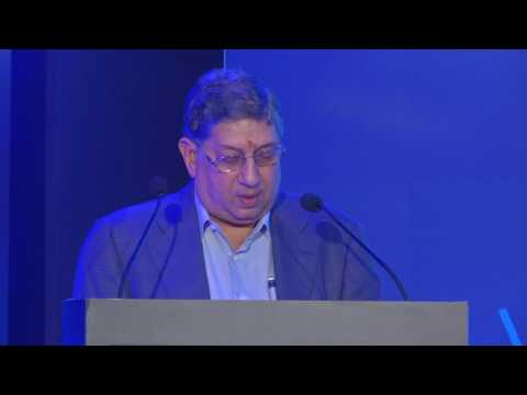 Mr. N Srinivasan speech during Tekplay brand launch