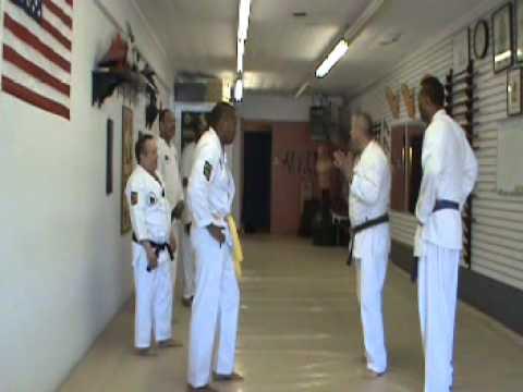 Self Defense Class with Sensei Delgado #2 5-4-2014