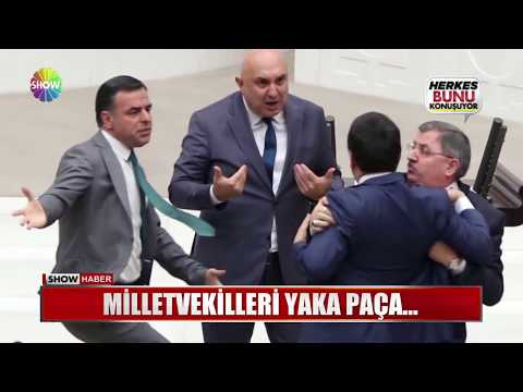 Milletvekilleri Yaka Paça...