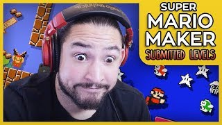 OKAY THESE ARE IMPOSSIBLE - SUPER MARIO MAKER