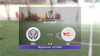 Обзор матча MBZ YBC Турнир по мини футболу в Киеве