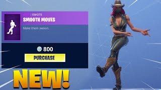 *NEW* SMOOTH MOVES EMOTE DANCE! Fortnite Battle Royale!