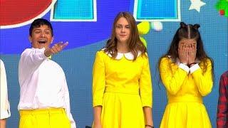 Детский КВН 2017 - 1 сезон 2 выпуск (26.11.2017) ИГРА ЦЕЛИКОМ Full HD