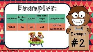 CÓMO USAR DO Y DOES EN INGLÉS | Simple Present: Information Questions - Part 1 | Curso de Inglés