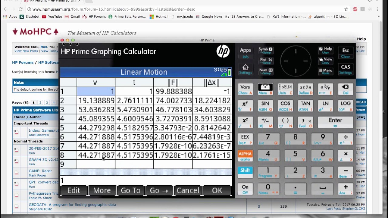 HP Forums - 1-AUG-2019 SolveSys - Equation Library and