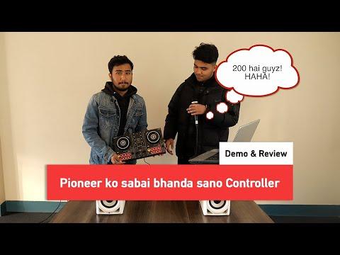 DDJ 200   Demo & Review   ( Pioneer ko sabai bhanda sano Controller dekhera dui jana beheos )
