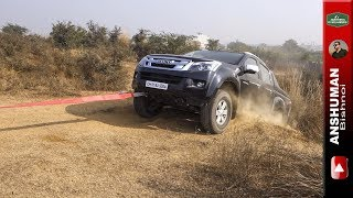 Isuzu V Cross, Thar, XUV 500 AWD, Scorpio 4wd. Obstacle 3. 18 12 16
