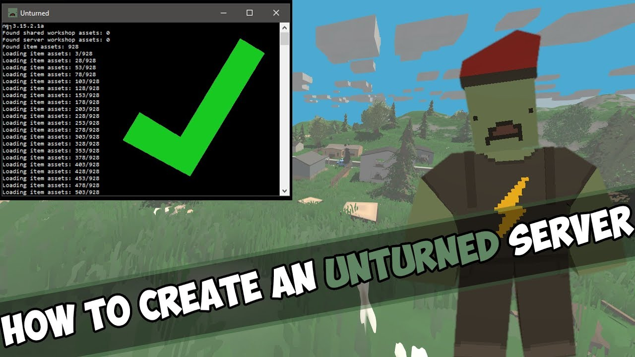 how to create a private server in unturned