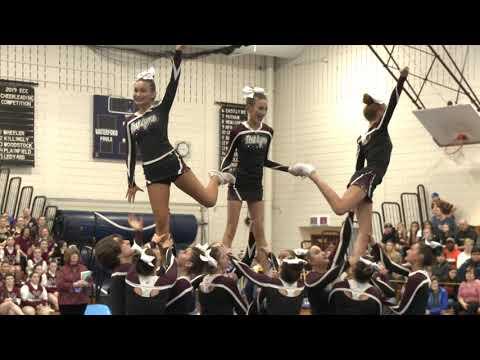 East Lyme High School at 2019 ECC Cheerleading Championship