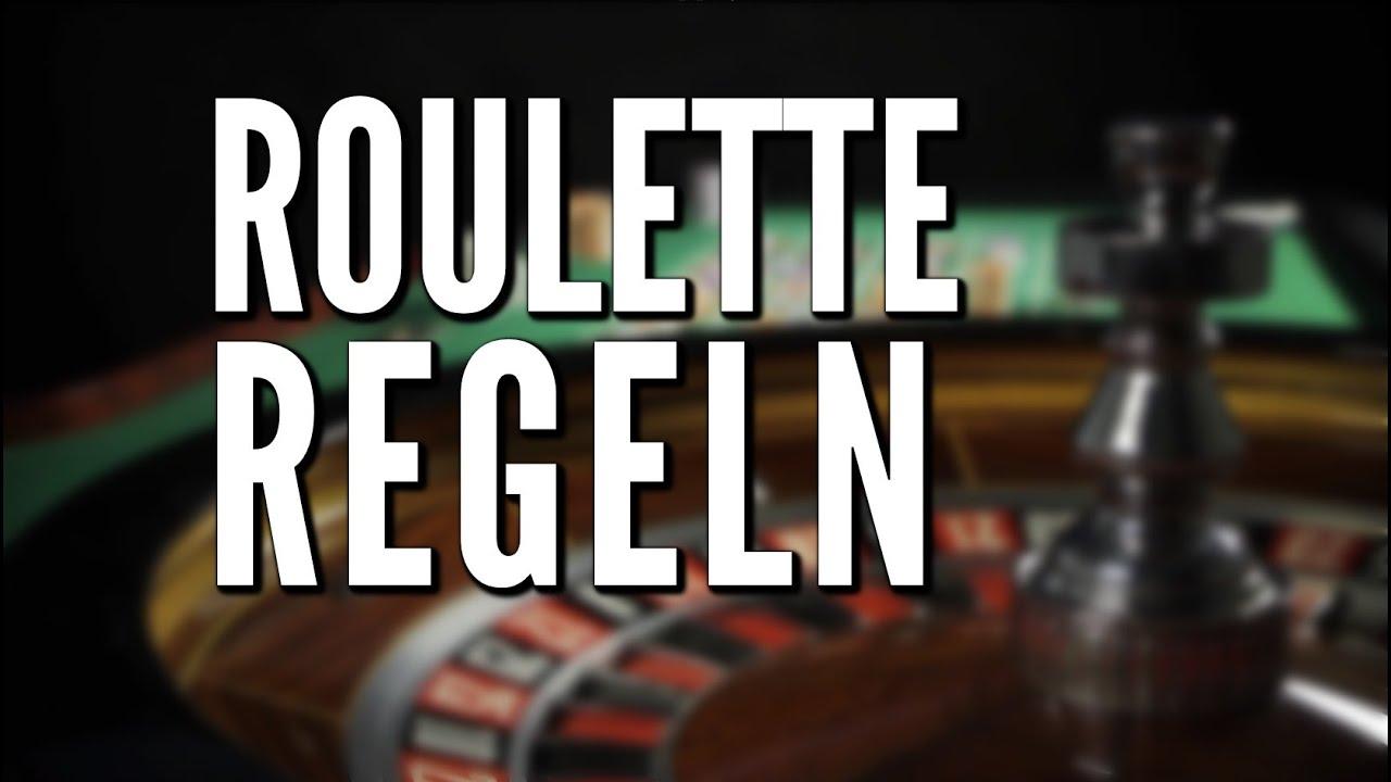 Regeln Roulette