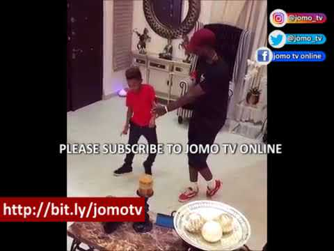 Download Mr P. Psquare's Son Defeated Peter Okoye In Dance Competition