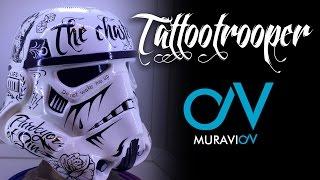 Как сделать шлем штурмовика! Tattootrooper, Star Wars, Helmet stormtrooper, episode VII.(Tattootrooper шлем ручной работы сделаный для будущей выставки посвященной выходу 7 эпизод Звездных Войнов,, 2015-03-07T18:08:23.000Z)