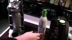 SodaStream - Changing CO2 Cartridge