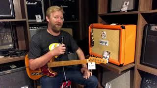 Harley Benton TE-80 and Orange Rocker 32 (bad mic placement = bad audio) #TGU18