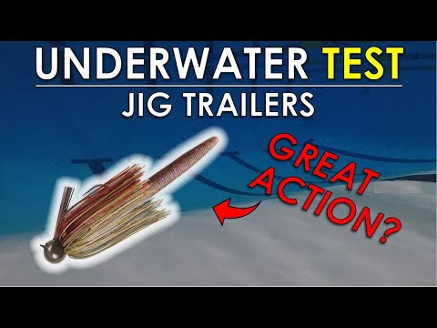 Best Jig Trailers | Underwater Bass Fishing Lure Test