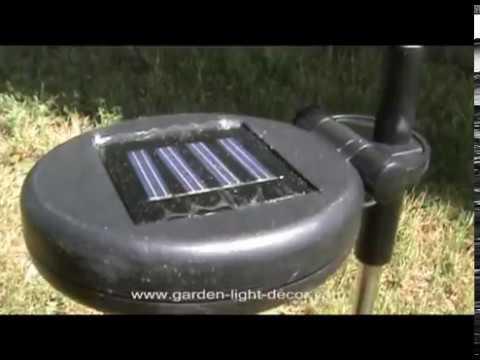 Hummingbird Solar Powered Garden Yard Stake Light