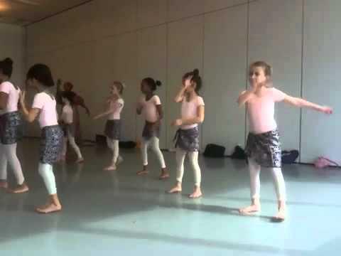 Alvin Ailey African Dance Class