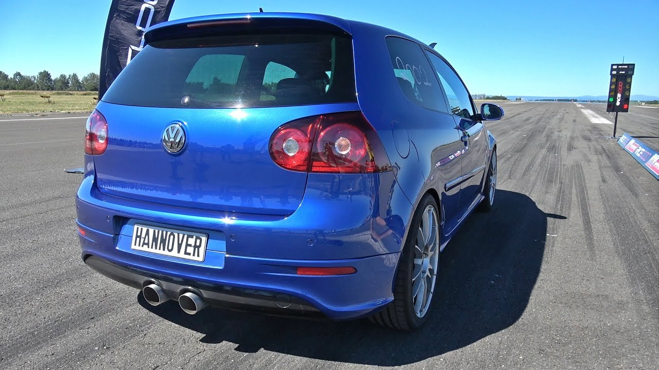 800hp volkswagen golf 5 r32 turbo 1 2 mile accelerations. Black Bedroom Furniture Sets. Home Design Ideas