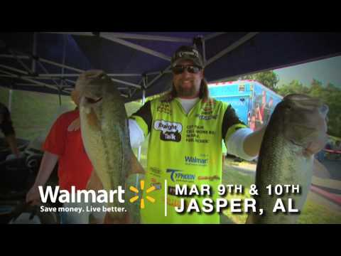 2013 FLW Tour on Lewis Smith Lake