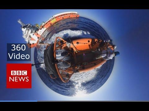 Migrants in the Mediterranean: Anatomy of a sea rescue in 360 video – BBC News