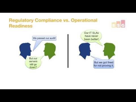 Blog: Regulatory Compliance vs Operational Readiness (part 1 of 4)