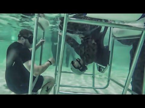 Combat Camera Marines • Underwater Helicopter Escape