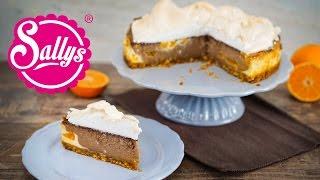Schokoladenkäsekuchen mit Baiser / Chocolate Cheesecake / Trump Cake
