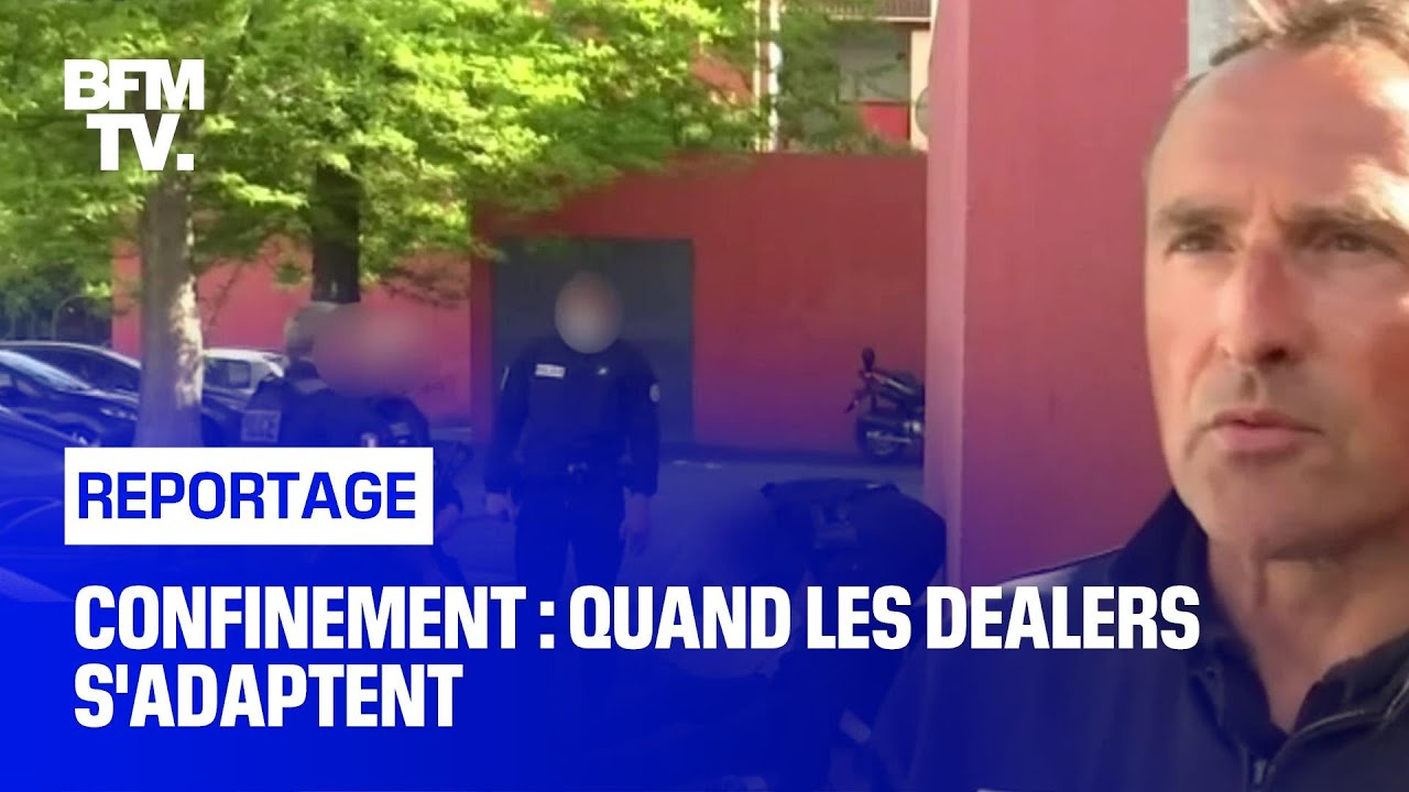 Confinement : quand les dealers s'adaptent