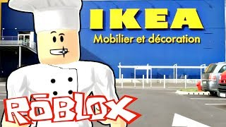 MY VISIT TO IKEA Roblox Restaurant Tycoon