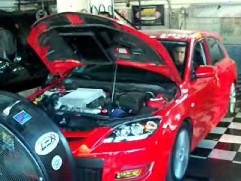 Mazdaspeed 3 (Mexico) Dyno - Stock ECU vs Hypertech Sport Programmer