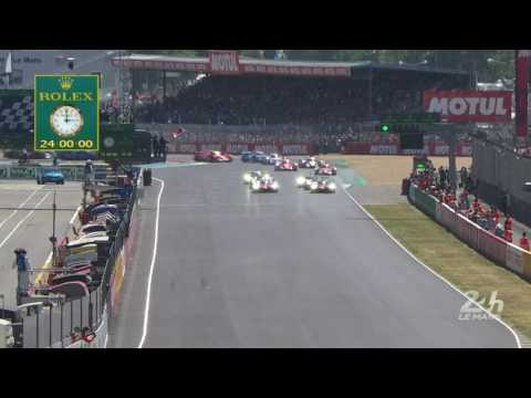 24 Hours of Le Mans Race Start