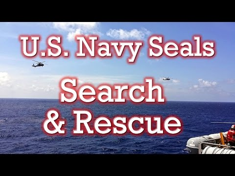 U.S. NAVY SEALS SEARCH and RESCUE Demonstration