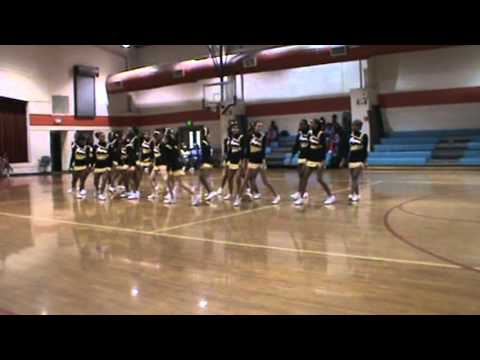Johnnie Carr Jaguars at Montgomery Middle School Cheer Competition