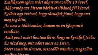MAJKA CURTIS BLR - BELEHALOK dalszöveggel