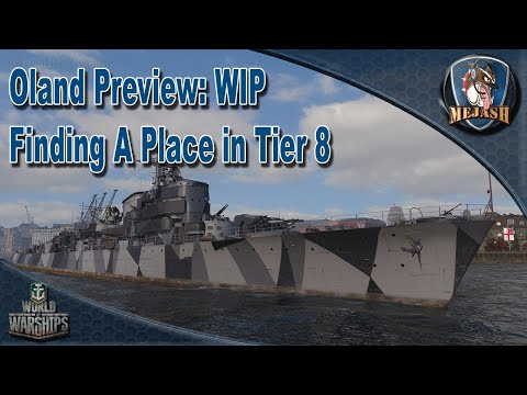 Oland Preview: Finding A Place In Tier 8! WIP Pan EU Destroyer