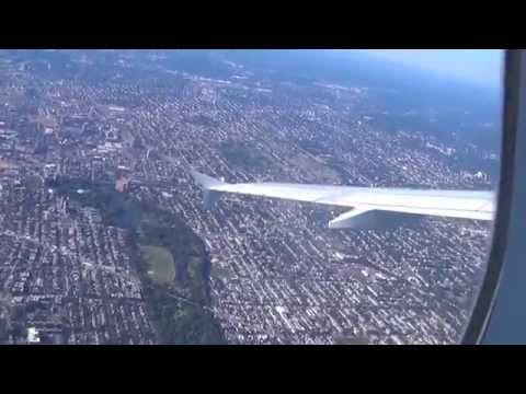 Jetblue 1289  Newark - San Juan - Manhattan Views