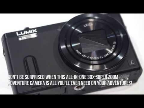 Panasonic Lumix Zs40, 30X Super Zoom, Full-HD video, Wi-Fi, GPS - Panasonic Lumix...