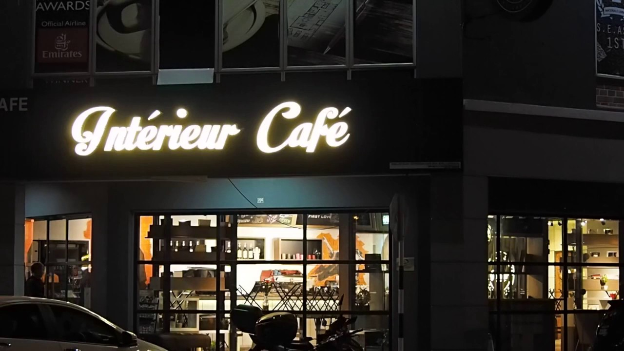 Interieur Cafe - YouTube