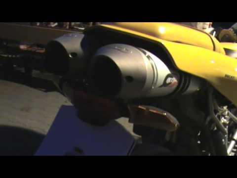 Soundcheck: Ducati 749 + Quad-D Endschalldämpfer