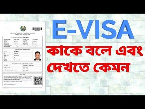 E-Visa For Bangladeshi Passport