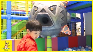 Tayo Bus Indoor Playground Family Fun Play Area for kids Children play center | MariAndKids Toys
