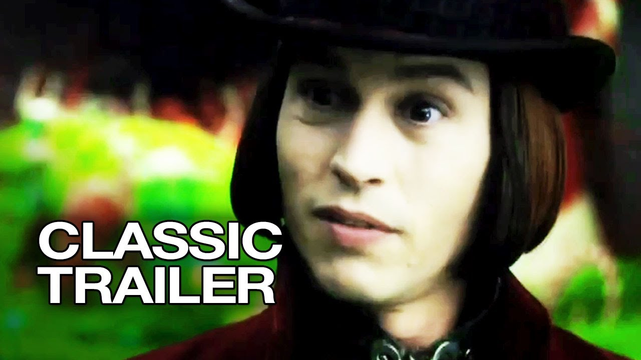 Charlie and the Chocolate Factory (2005) Official Trailer #1 - Johnny Depp  Movie HD - YouTube